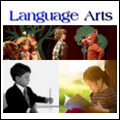 Language Arts icon with link to resource page