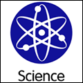 science icon with link to resource page