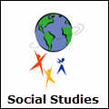 social studies icon with link to resource page